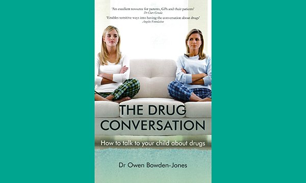 The drug conversation book cover