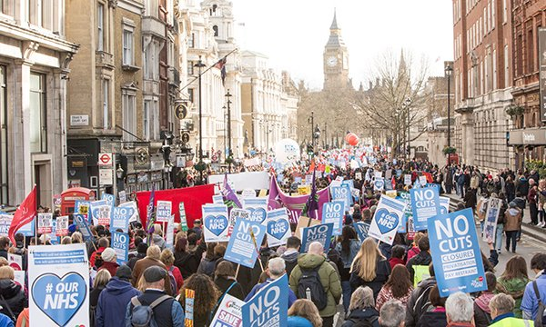 Our NHS march