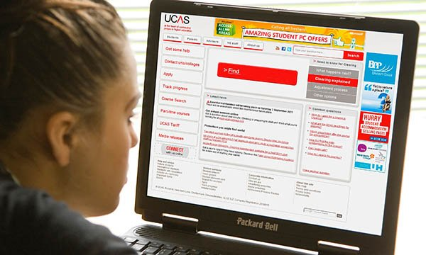 UCAS application