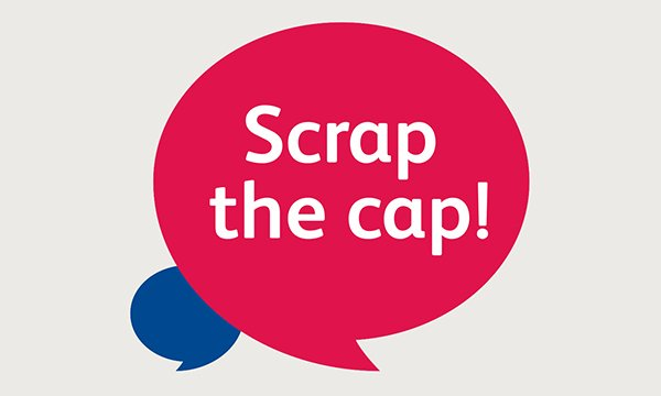 Scrap the Cap graphic