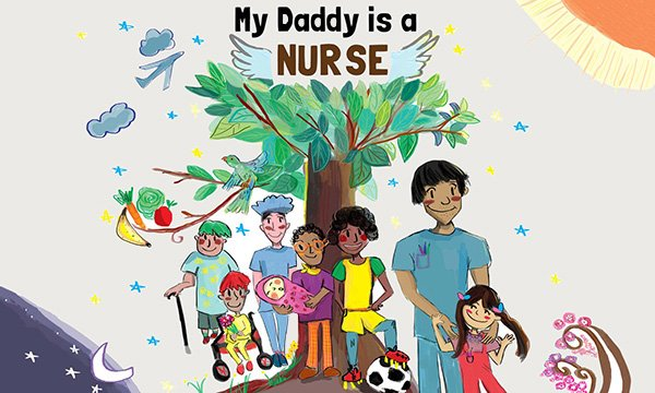 My Daddy is a Nurse, by Butterfly Books, challenges gender stereotypes about nursing