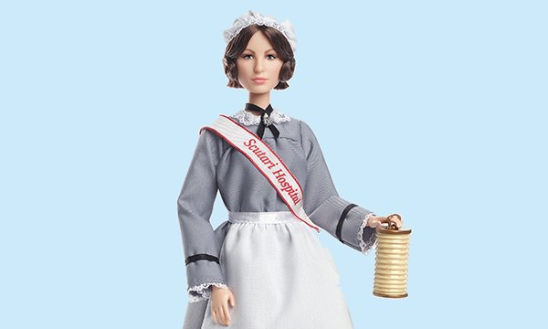 Florence Nightingale Barbie doll