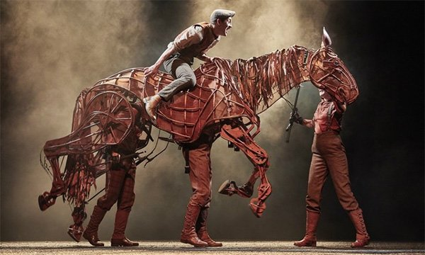 War Horse performers offer tips on PPE