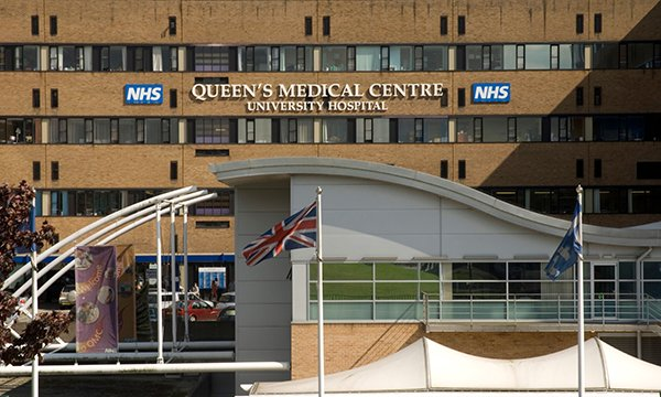 Queen's Medical Centre in Nottingham