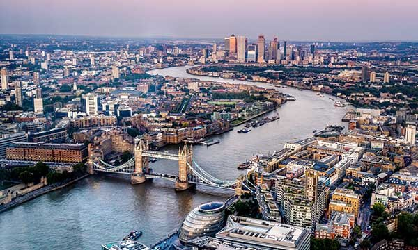 London skyline. London has the highest nurse vacancy rate of any of England's regions. Picture: iStock