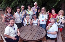 Dementia Carers' Support Service carers and volunteers