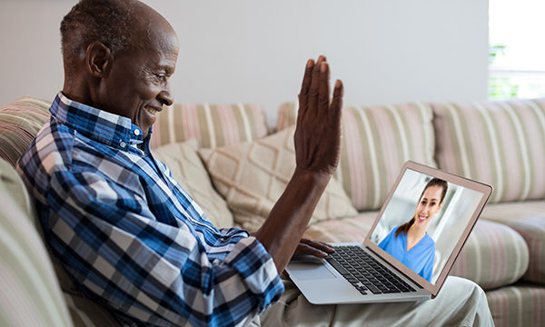 Online live chat: a digital solution or barrier to communicating with those affected by prostate cancer?