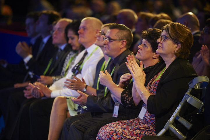 RCN congress audience
