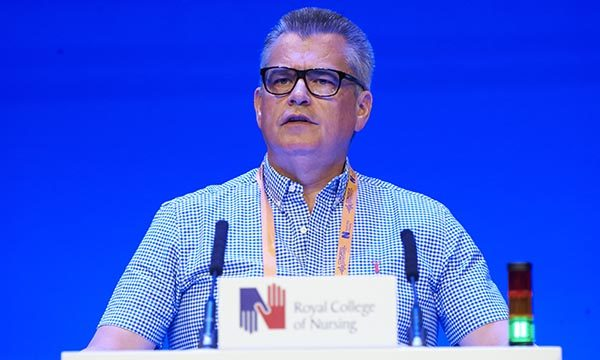 Kevin Crimmons, RCN Congress 2019. Picture: John Houlihan
