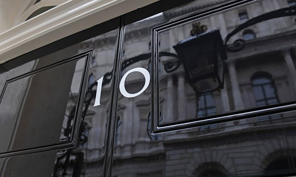 10 Downing Street front door