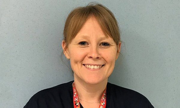 Picture of Emily Jones, a paediatric emergency unit sister at University Hospital of Wales, Cardiff. She loves the variety of her job and says all experiences at work, good and bad, will make you a better emergency nurse.
