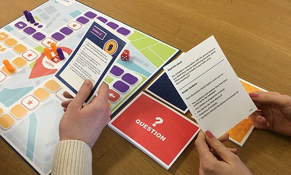 Board game aims to stimulate nurses to identify and discuss domestic violence and abuse