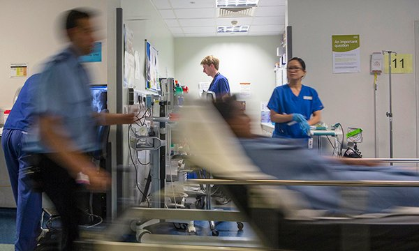 Nursing is fast-paced in the emergency department