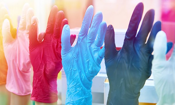 Glove use increases healthcare workers' risk of developing contact dermatitis