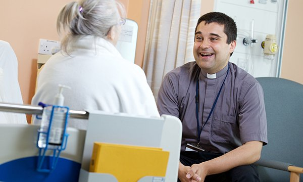 Understanding the role of chaplains in supporting patients and healthcare staff