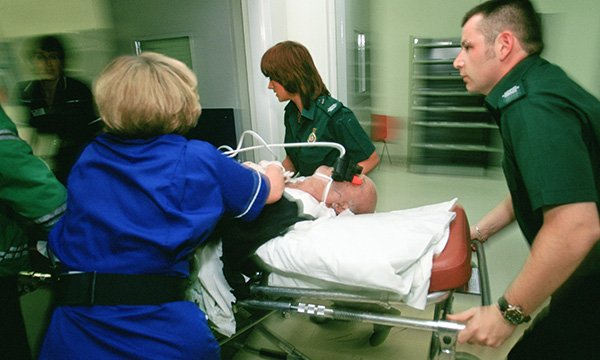 Traumatic cardiac arrest in the emergency department