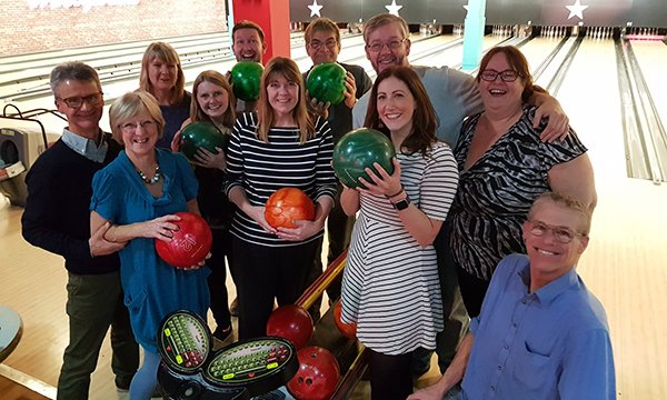 Sugar Buddies support group meet-ups include social outings, such as bowling or a coffee morning