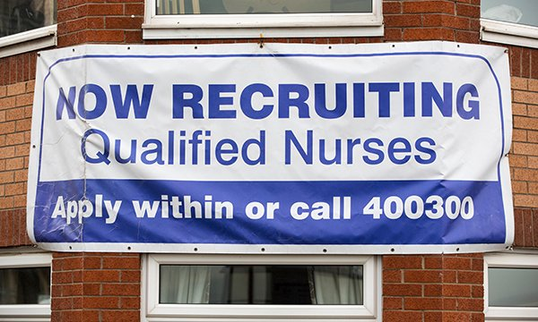 Nurses looking for a job