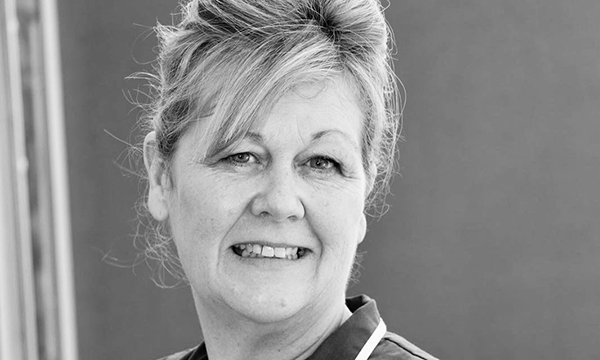 Image shows RCN community lead for end of life care Carolyn Doyle