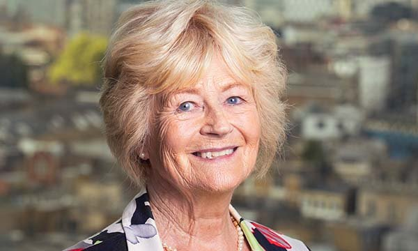 Picture of Dame Yvonne Moores, chair of the Florence Nightingale Foundation.