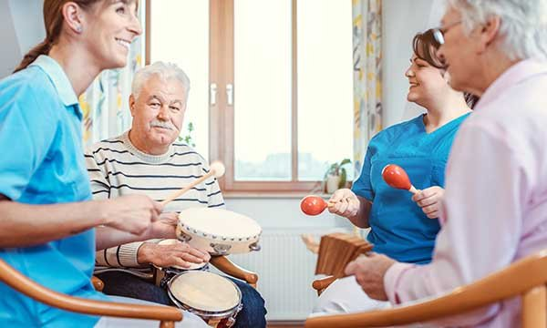 Using music interventions in the care of people with dementia