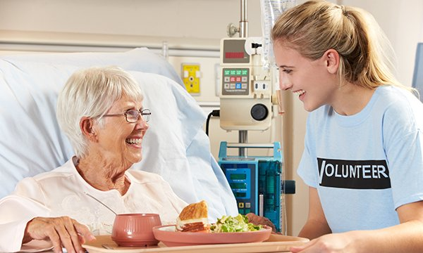 A nurse-led youth volunteering project to support older people on acute hospital wards