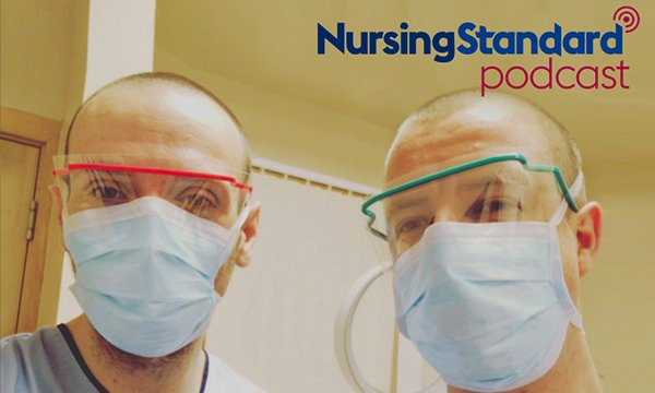 Brian Webster and Dean McMaster on the Nursing Standard podcast