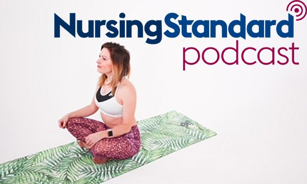 Critical care nurse and yoga practitioner Sacha Rowlands