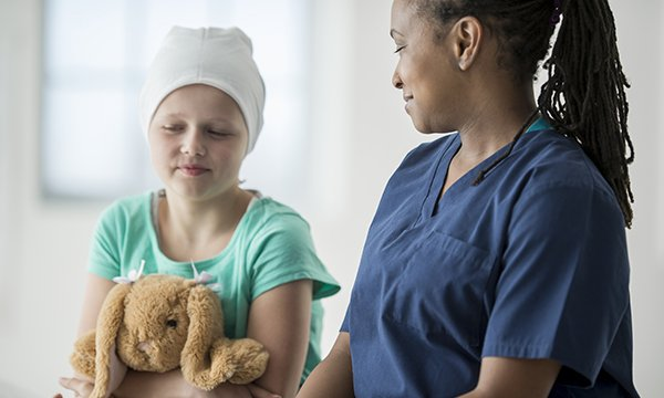 Children's and adolescents' experiences of living with cancer