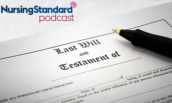 First page of a will document – as solicitor explains the steps to take to write a will