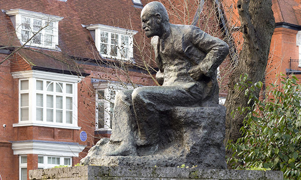 Statue of Sigmund Freud
