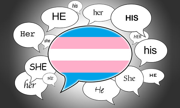 pronouns illustration