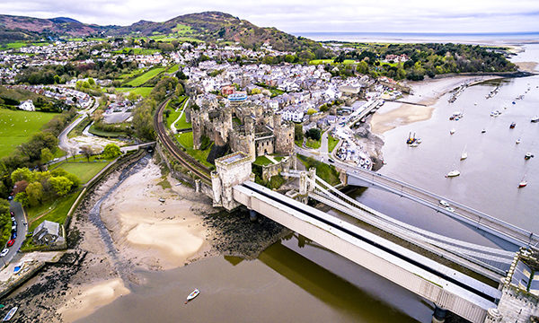 Conwy in Wales