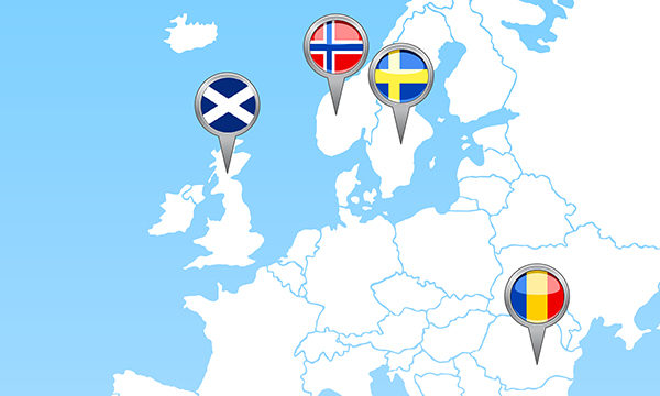 Educational systems for inclusive education in Norway, Romania, Scotland and Sweden