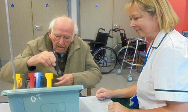 Developing a holistic, multidisciplinary community service for frail older people